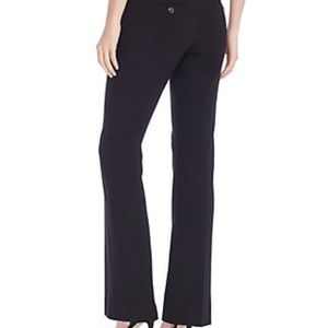 THE LIMITED / Black PinStripe Flare Dress Pants